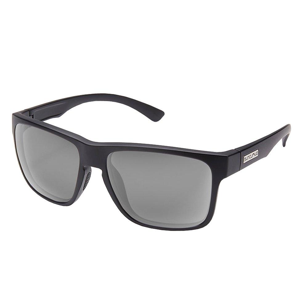 Suncloud Optics Rambler Injection Molded Sunglasses (Matte Black,Gray)