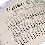 Scala 0.1 C Curl 120pcs 8-16mm to Choose Individual Lashes Black False Eyelash Natural Long Cluster Extension Makeup Beauty Health Makeup Fake Eyelashes (9mm)