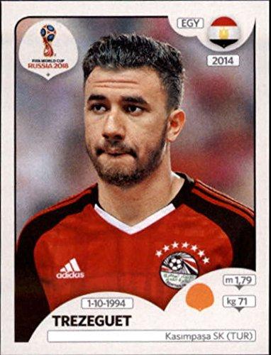 2018 Panini World Cup Stickers Russia #86 Mahmoud Trezeguet Egypt Soccer Sticker ()