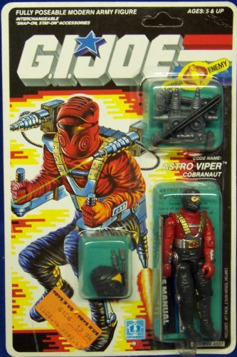 G.I. Joe Carded Astro Viper Action (Gi Joe Carded)