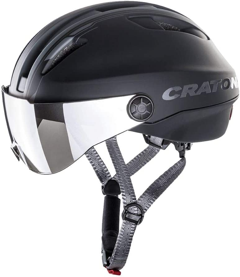 Cratoni Evo – Incluye cinta de seguridad RennMaxe – Bicicleta eléctrica – jóvenes adultos