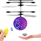 GZMY Fun Creative Toys for 3-16 Year Old Boys, LED Flashing Flying Ball 3-12 Year Old Boy Girl Gifts