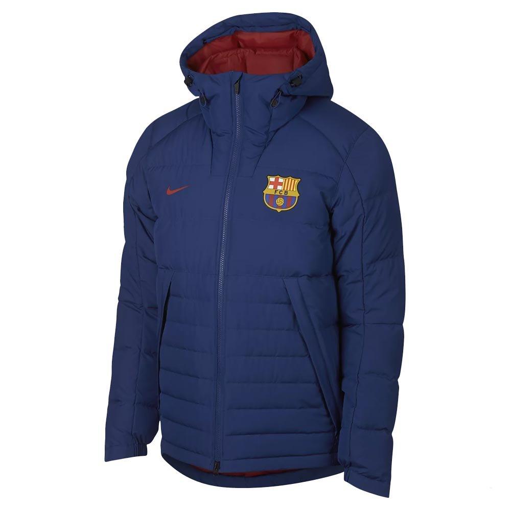 Nike 2018-2019 Barcelona Down Fill Jacket (Royal Blau)