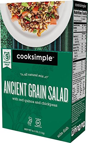 Price comparison product image cooksimple All Natural Mix Ancient Grain Salad (4 Pack)