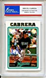 Miguel Cabrera 2005 Topps Florida Marlins Autographed Trading Card - Certified Authentic