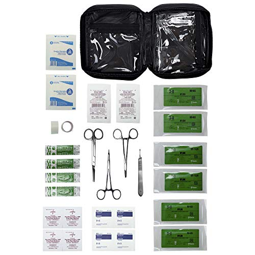 Advanced Surgical Suture First Aid Kit - 31 Piece Survival Kit