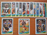 : Los Angeles Rams 1988 Topps Football Team Set (Kevin Green Rookie) (Jim Everett) (Charles White) (Henry Ellard) (Jackie Slater) (Nolan Cromwell) (St Louis)