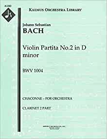 bach chaconne for clarinet pdf