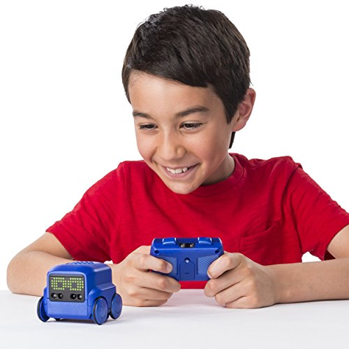 51nhSUgq2PL - Boxer - Interactive A.I. Robot Toy (Blue) with Personality and Emotions, for Ages 6 and Up