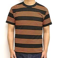 Toys McCoy Multi Stripe Tee TMC1926: Orange / Black