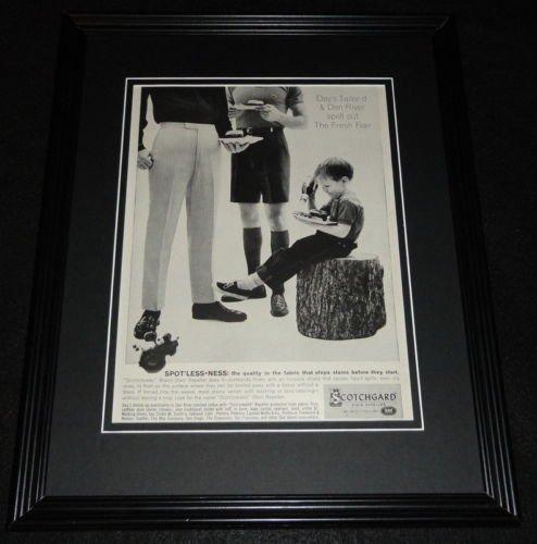 1961-scotchgard-stain-repeller-11x14-framed-original-advertisement