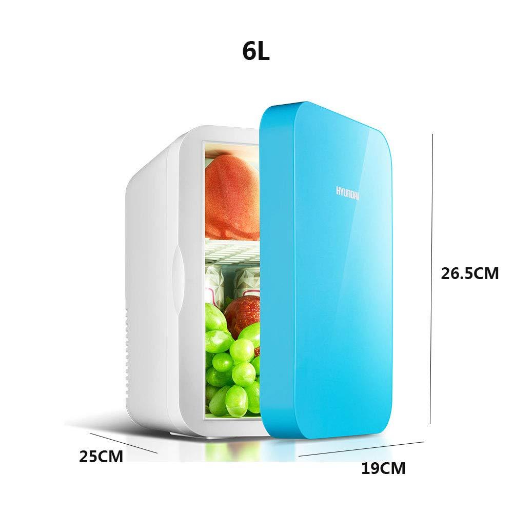 LHAO 6L Nevera Coche Mini Nevera portatil eléctrico enfría y ...