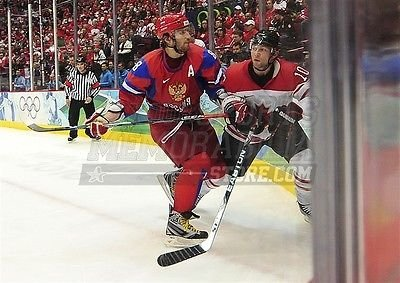 Alexander Ovechkin Capitals Team Russia Olympics 8x10 11x14 16x20 photo 1078 - Size 8x10