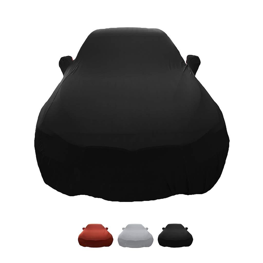 Capucha de Terciopelo de Tela de Tela el/ástica dedicada for exhibici/ón autom/ática HWHCZ Fundas para Coche Compatible con la Cubierta del autom/óvil Nissan 370Z for Uso en Interiores