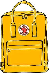 Amazon.com: MR3Graphics Magnet kanken Yellow Backpack