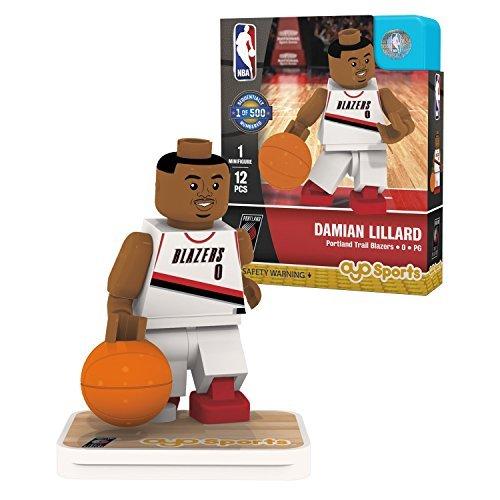 (OYO Sports NBA Minifigure Portland Trail Blazers Damian Lillard)