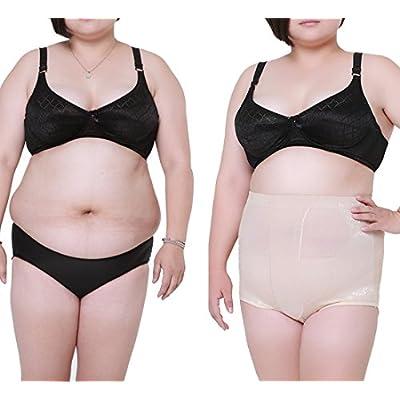 cd6735f76 High Waist Shapewear Brief Control Panty for Women Plus Size Summer Mesh