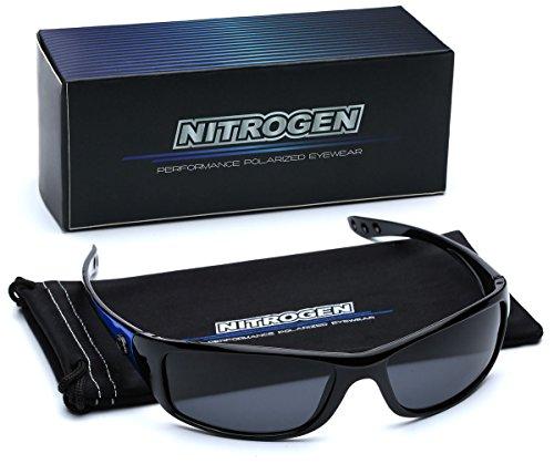 Small Polarized Sport Fishing Driving Running Sunglasses - Black & - Sports Cheap Sunglasses