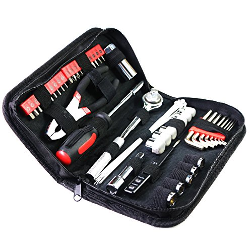 Yuanshikj Precision 56-Piece Tools General Auto Tool Set Kit