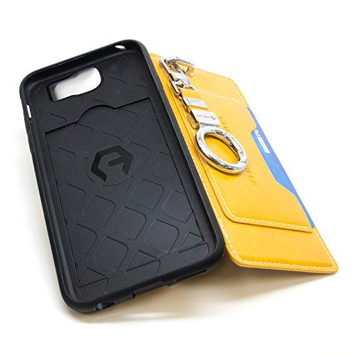100% authentic 26495 61e0f Galaxy S7 Edge Case, Arium [Clutch] Premium Case [Gold] [Pocket ...