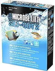 MICROBE-LIFT Sili-Out 2 – środek do usuwania krzemianów i fosforanów na bazie aluminium do akwariów z wodą słodką i morską, 500 ml, 360 g