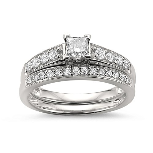 Cut Diamond Bridal Set - 7