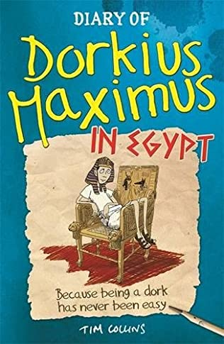 book cover of Diary of Dorkius Maximus in Egypt