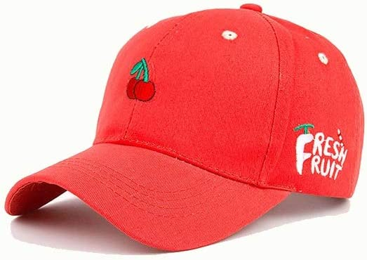 Guomao Embroidered Hip Hop Caps Simple Hip-hop Small Fresh Flat Baseball Cap Color : 3, Size : 56-62cm