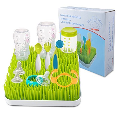 Baby Bottle Drying Rack, Enlala Baby Anti-Bacterial Countert