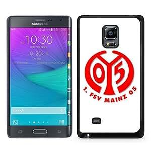 Popular Sale Samsung Galaxy Note Edge Case,FSV Mainz 05 Logo 2 Black Customized Picture Design Samsung Galaxy Note Edge Phone Case