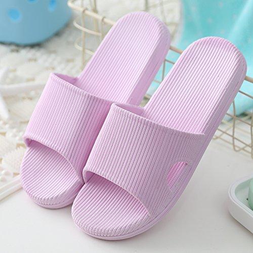 durante verano y baño DogHaccd Violeta1 zapatill encantadores cool zapatillas casa sandalias cuartos frescos de baños verano masculinas en parejas los mujer las el son Los quedarse en Zapatillas de interiores IUrwTqZU