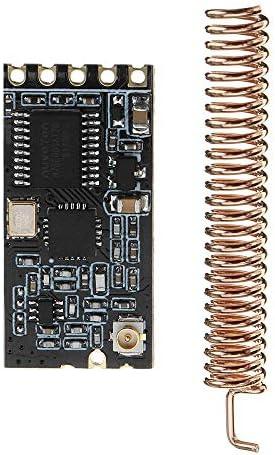 ZhaoXin Chen GT-38ワイヤレスMCUシリアルモジュールSI4438 / 4463 1200メートルは、UARTインターフェース無線通信モジュールを受信します