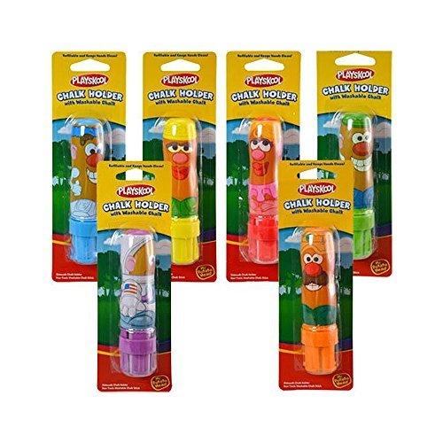 - UPD Playskool Mr Potato Head Jumbo Sidewalk Chalk Holder Set, 6-Pack