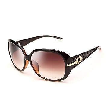 Gafas de Sol Gafas De Sol Moda Big Frame Gafas Retro Negro ...