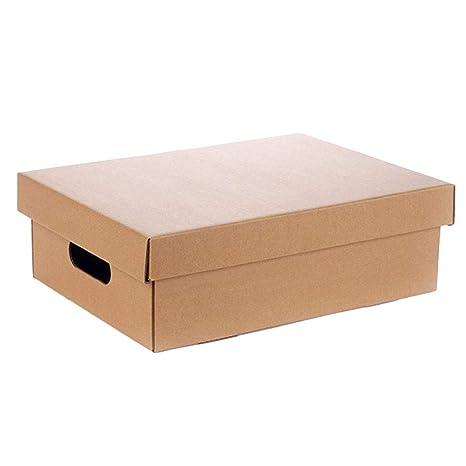 KKCF-HE Cajas De Cartón con Tapa 3 Capas Corrugadas Paquete Plano Caja De Frutas