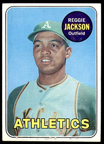 1969 Topps #260 Reggie Jackson G-VG RC Rookie Athletics