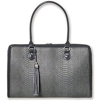 4d2e9528c1 ZipperNext Croc Design Premium Genuine Leather Messenger Bag for 15.6
