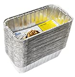 eHomeA2Z Aluminum Loaf Pans Disposable Heavy Duty For Bread, Cake 8.5 x 4.5 x 2.5 Inch (40)