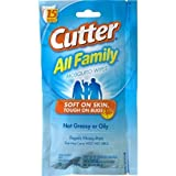 Cutter All Family Mosquito Repellent Wipes, 15 Wipes, (Pack of 3)