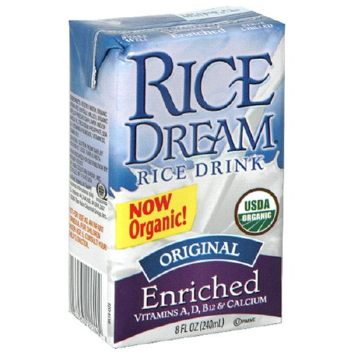 Rice Dream, Rice Drink, Enriched Original, Organic, 3-Pack, 8 oz each by Rice Dream