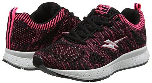 Grey black Gola Donna Nero silver Scarpe Zenith Running pink Iw7vqpY7