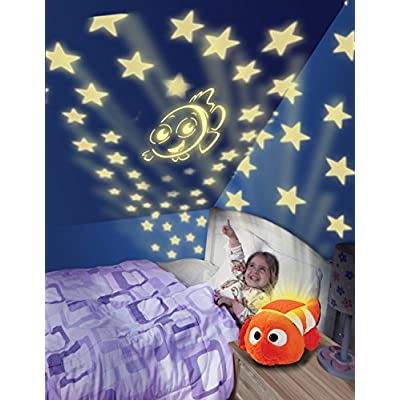 Pillow Pets Disney Finding Dory Nemo Dream Lites Stuffed Animal Night Light: Toys & Games