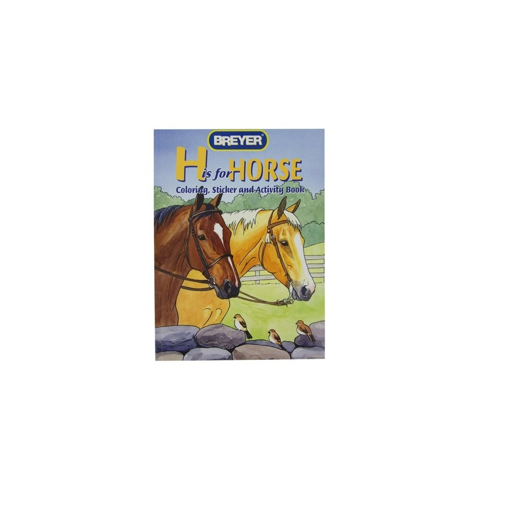 NETPROSHOP Breyer Coloring Activity Books Sticker Book All About Horses, Motive:Motive 1