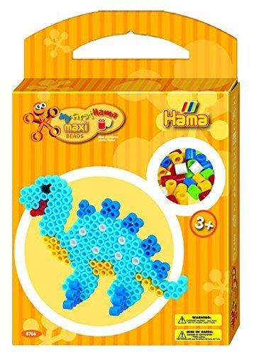 - Dinosaur Hama Beads Kit (Maxi) by Hama