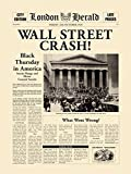 Wall Street Crash Poster Print by The Vintage Collection (24 x 32)