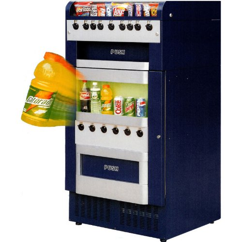 Seaga Vending Machines (VM-151/251 Mechanical Combo Vending)