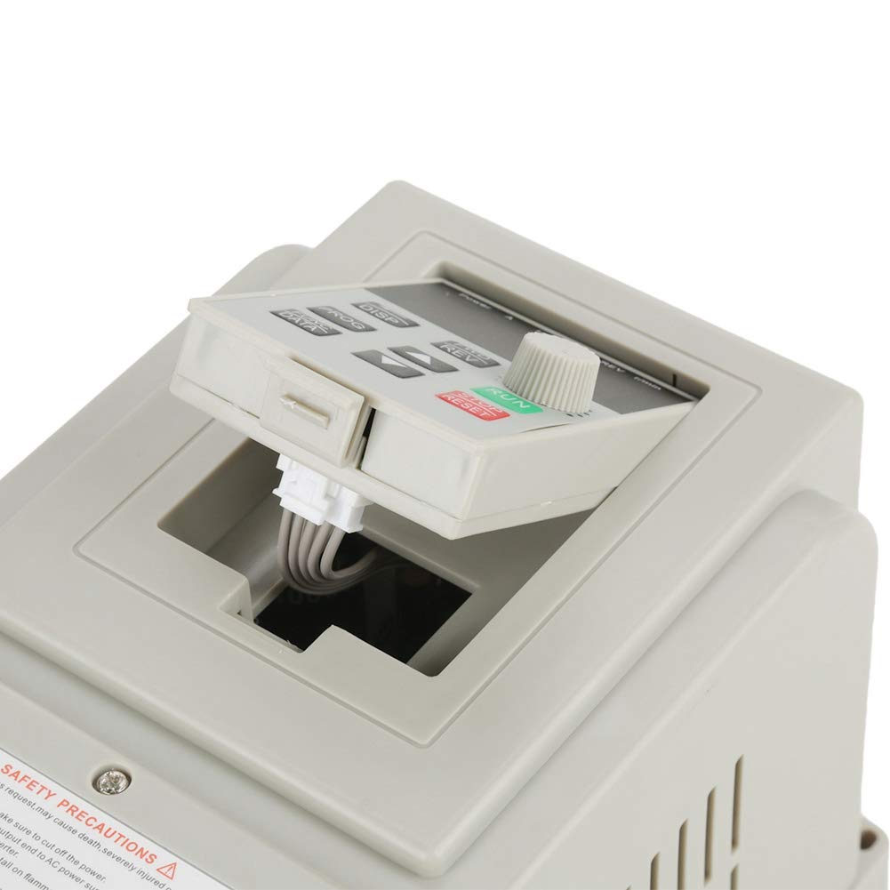 AC 220V 1.5KW Variable Frequency Drive VFD Speeds Controller for 3-Phase Motor Variable Frequency Drive