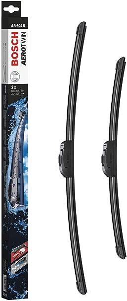 Comprar Escobilla limpiaparabrisas Bosch Aerotwin AR604S, Longitud: 600mm/450mm – 1 juego para el parabrisas (frontal)