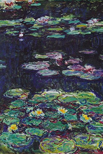Claude Monet White And Yellow Water Lilies Art Print Poster