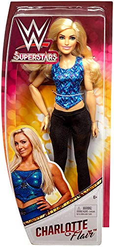 Charlotte Flair WWE Superstars Wrestling Doll 12 Inch Diva by Charlotte Flair